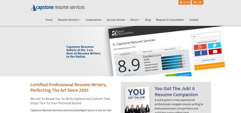 Capstone Resume Services Coupon