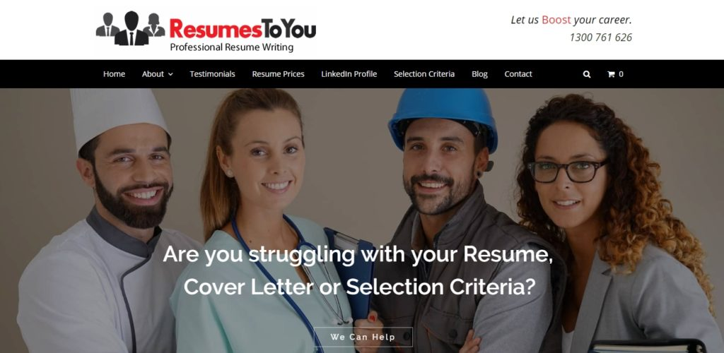 resumestoyou overview