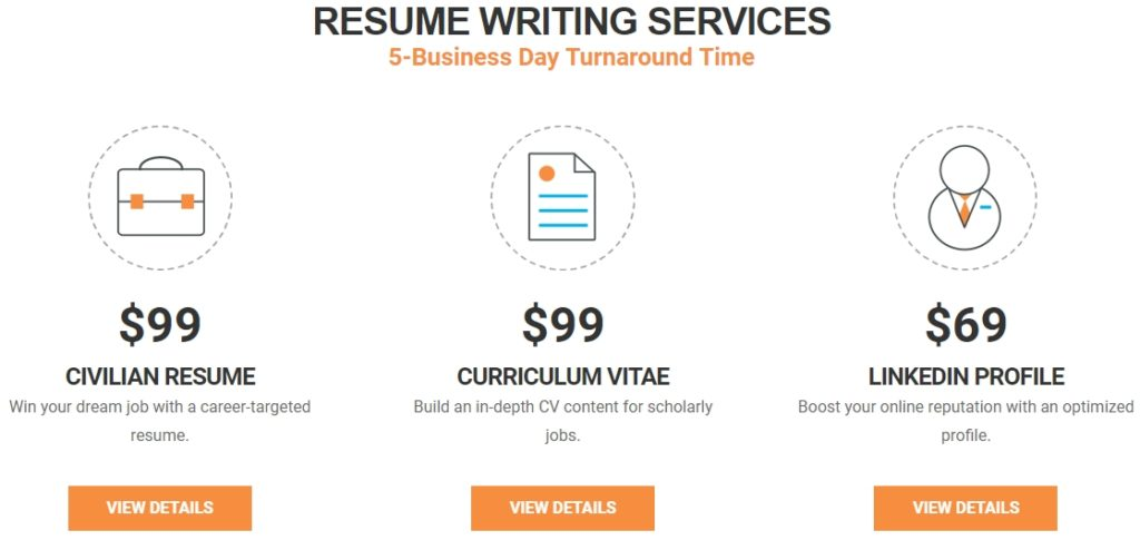 Resume Valley - prices